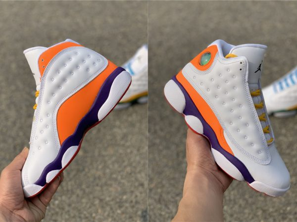 Air Jordan 13 Playground lateral and medial panels