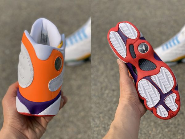 Air Jordan 13 Playground sole and heel