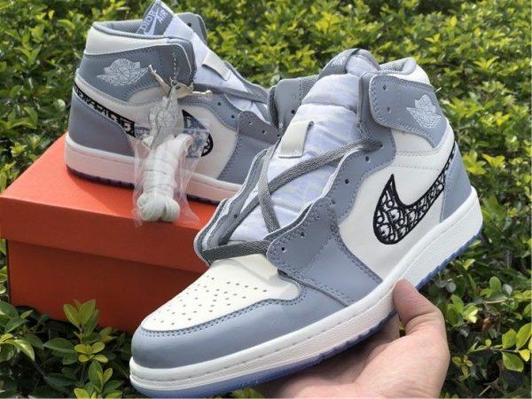 Dior x Air Jordan 1 High OG 2020 grey