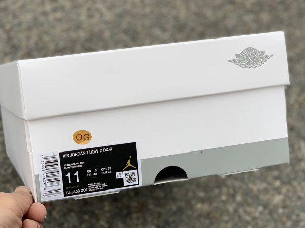 Dior x Air Jordan 1 Low box