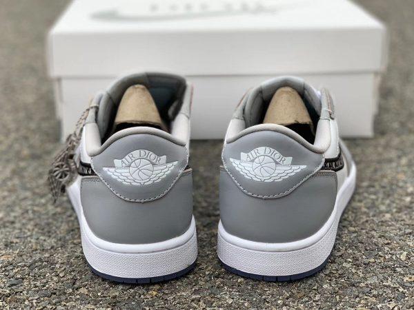 Dior x Air Jordan 1 Low heel