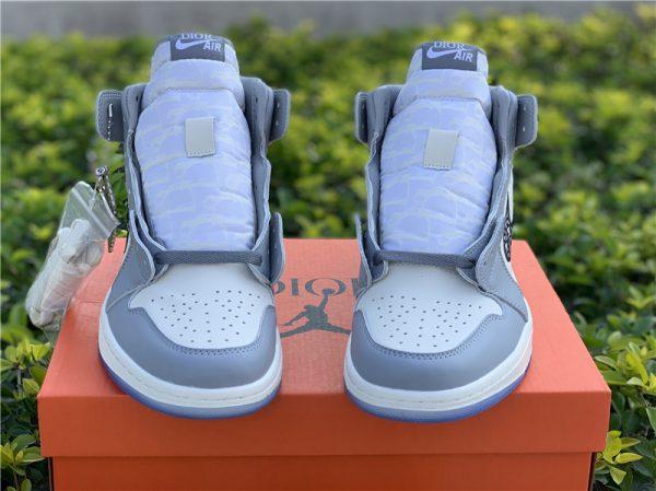 New Air Jordan 1 Dior High OG 2020 front upper tongue