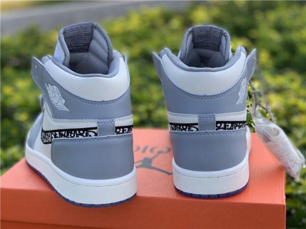 New Air Jordan 1 Dior High OG 2020 heel