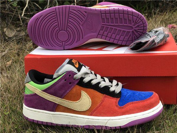 Nike Dunk Low Viotech 2019 purple bottom sole