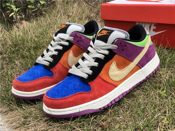 Nike Dunk Low Viotech 2019 red suede