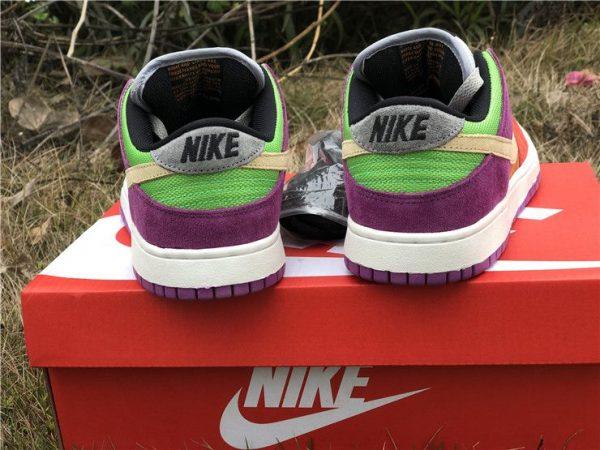 Nike Dunk Low Viotech 2019 volt green heel