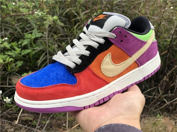 Nike Dunk Low Viotech on hand look