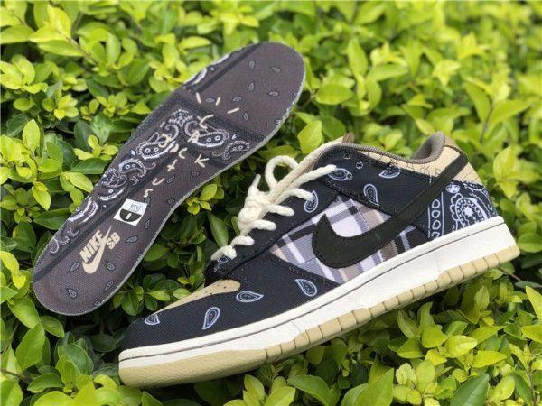 Nike SB Dunk Low x Travis Scott Black CT5053-001
