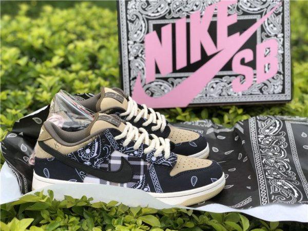 Travis Scott Nike SB Dunk Low CT5053-001 special Box