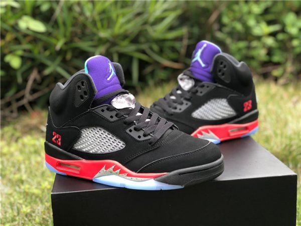 Air Jordan 5 V Retro Top 3 Black