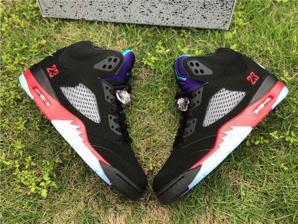 Air Jordan 5 V Retro Top 3 panel