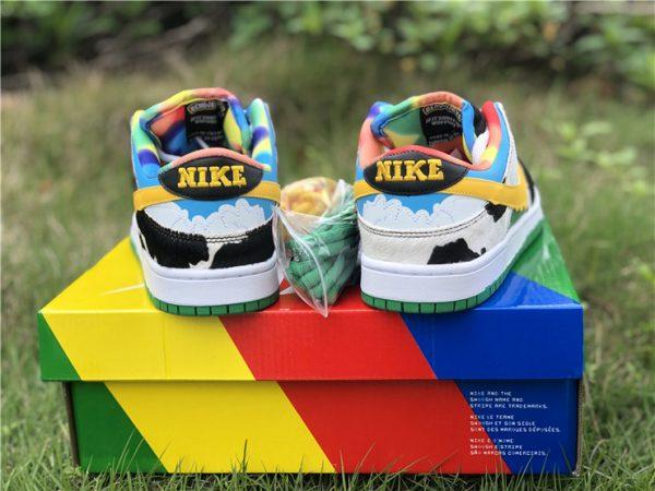 Ben Jerrys Nike SB Dunk Low Chunky Dunky heel