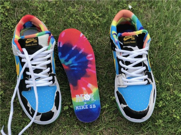 Ben Jerrys Nike SB Dunk Low Chunky Dunky insole