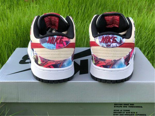 Nike Dunk SB Low Paris Rope heel