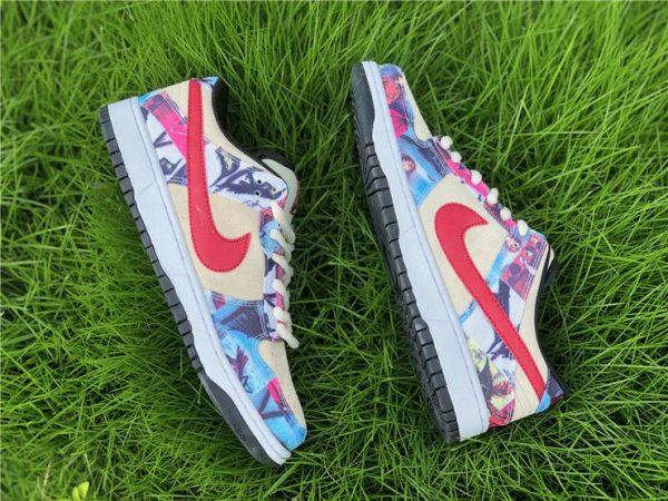 Nike Dunk SB Low Paris Rope red swoosh