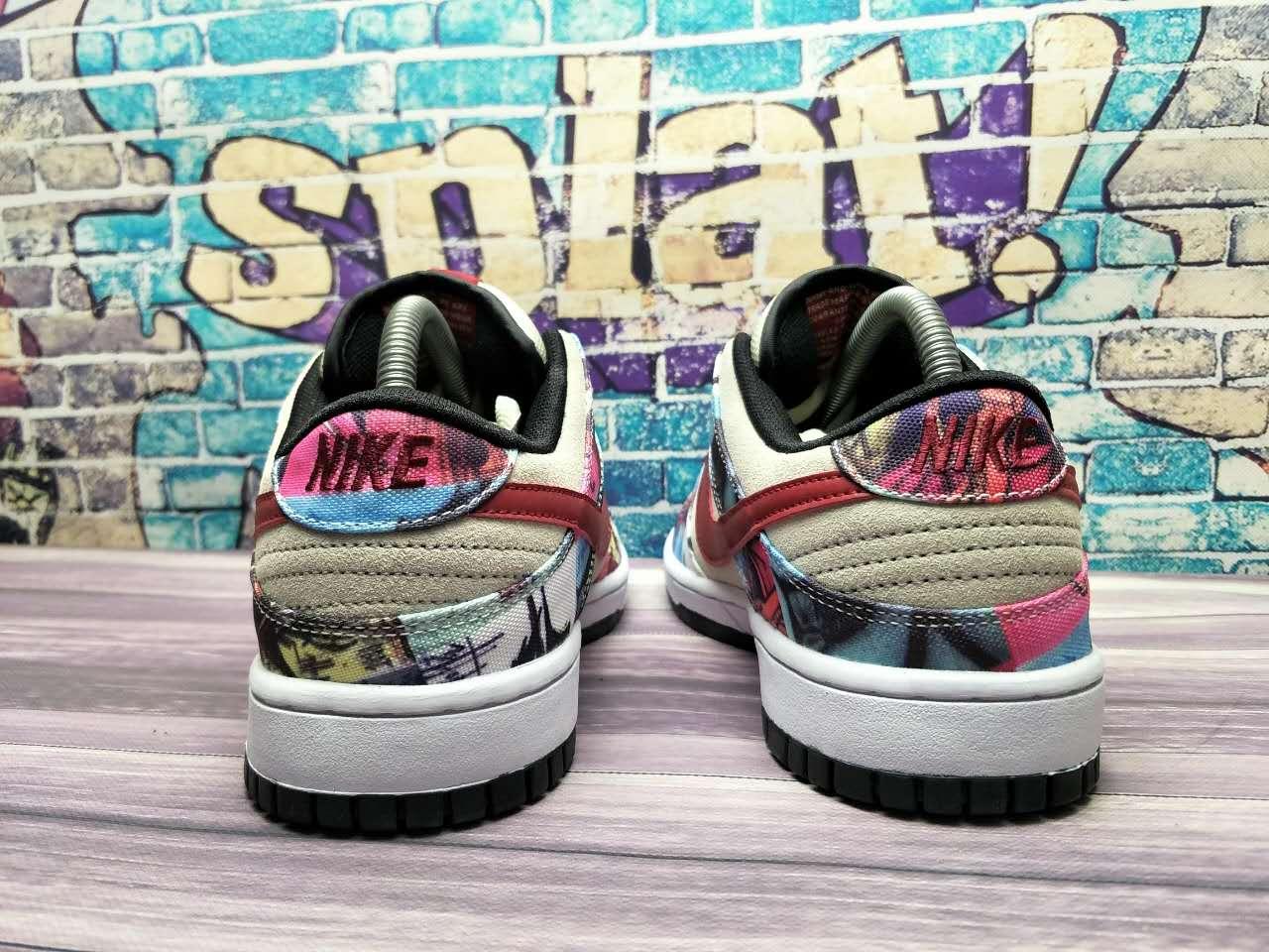Nike Dunk SB Low Paris heel