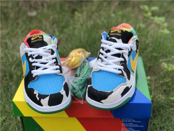 Nike SB Dunk Low Ben Jerrys Chunky Dunky toe