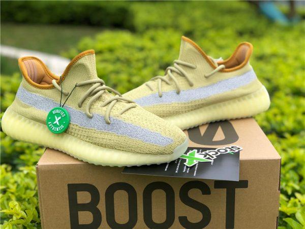 adidas Yeezy Boost 350 V2 Marsh yellow sneaker