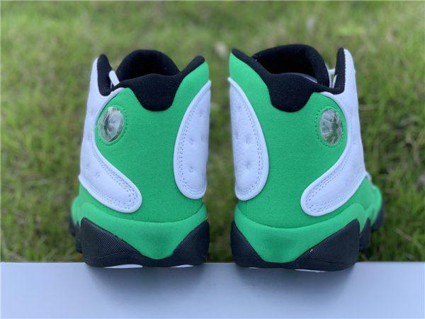 Air Jordan 13 Lucky Green Heel