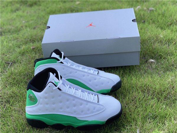 New Air Jordan 13 Lucky Green Shoes