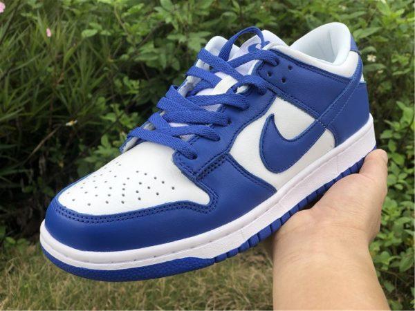 Nike Dunk Low Kentucky Varsity Royal on hand
