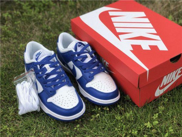 Nike Dunk Low Kentucky Varsity Royal shoes