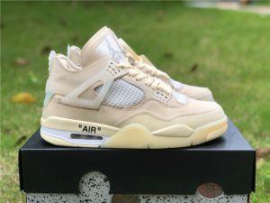 Virgil Abloh New Off-White x Air Jordan 4