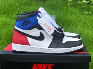 2020 Air Jordan 1 High OG SP Top 3 2.0 White Royal-Varsity Red-Black