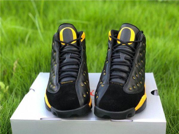 Air Jordan 13 PE Oregon Track and Field Black Yellow Front