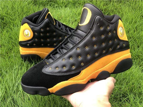 Air Jordan 13 PE Oregon Track and Field Black Yellow On-hand
