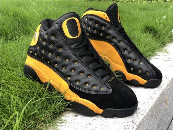 Air Jordan 13 PE Oregon Track and Field Black Yellow Online