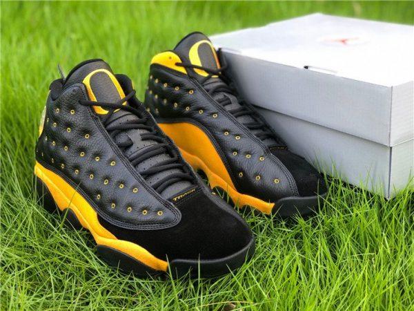 Air Jordan 13 PE Oregon Track and Field Black Yellow Sale