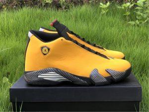 Air Jordan 14 Retro Yellow Ferrari University Gold BQ3685-706