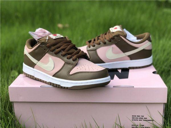 Brand New Stussy x Nike Dunk Low Pro SB Cherry Shy Pink Vanilla 304292-671