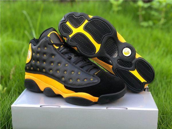Buy Air Jordan 13 PE Oregon Track and Field Black Yellow