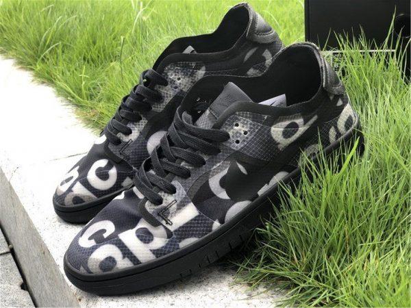 Buy COMME des GARCONS x Nike Dunk Low Black CZ2675-001