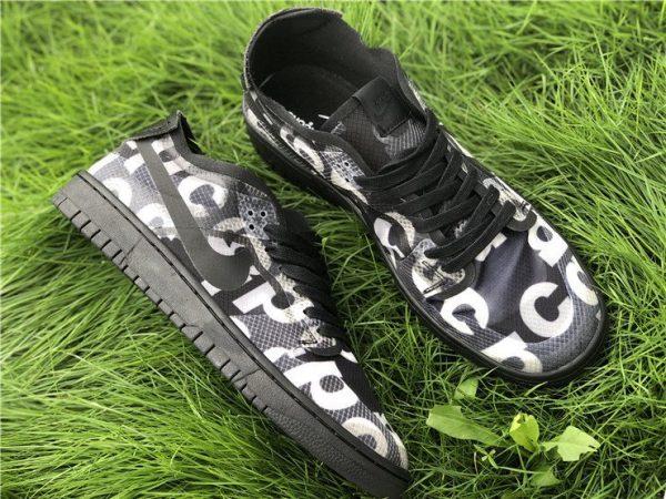CDG x Nike Dunk Low Black CZ2675-001 Top