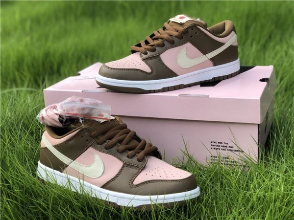 Cheap Nike Dunk SB Low Stussy Cherry Shy Pink Vanilla