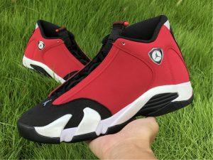 Gym Red Air Jordan 14 Toro on hand