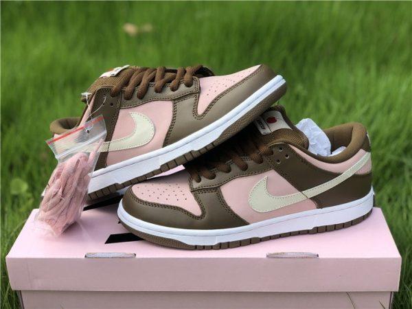 New Stussy x Nike Dunk Low Pro SB Cherry Shy Pink Vanilla 304292-671
