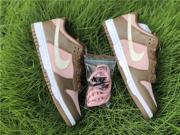 Nike Dunk SB Low Stussy Cherry Shy Pink Vanilla Top