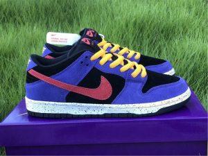 Nike SB Dunk Low ACG Terra Black Sunburst-Varsity Purple-Taxi