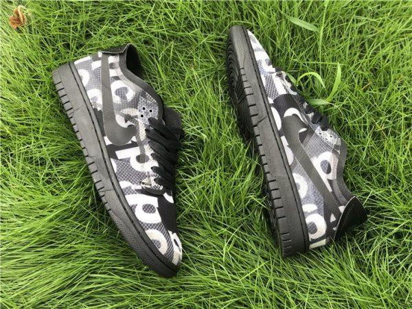 Shop CDG x Nike Dunk Low Black CZ2675-001