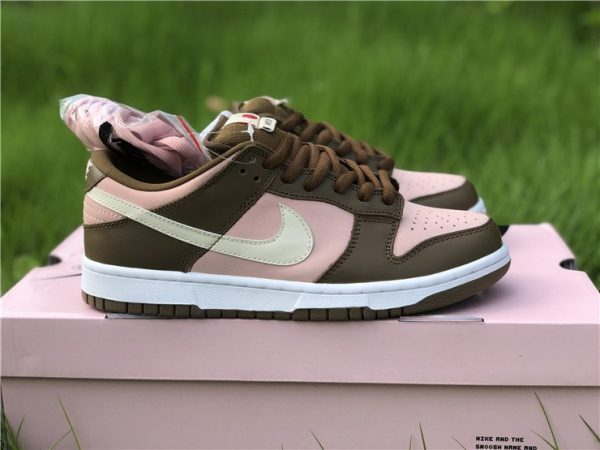Stussy x Nike Dunk Low Pro SB Cherry Shy Pink Vanilla 304292-671