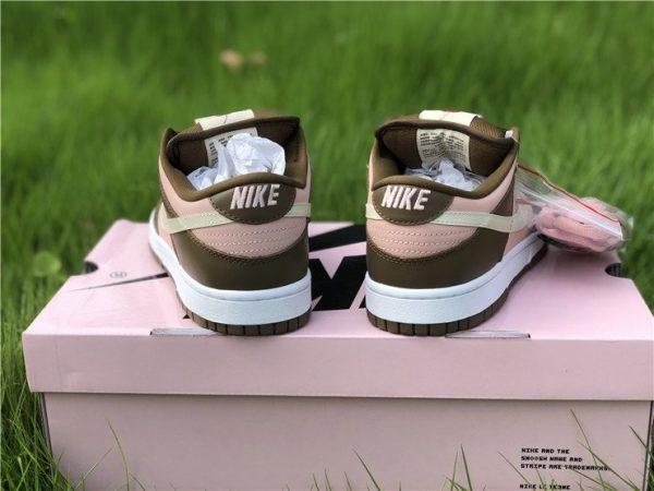 Stussy x Nike Dunk Low Pro SB Cherry Shy Pink Vanilla 304292-671 Heel