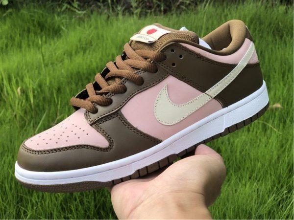 Stussy x Nike Dunk Low Pro SB Cherry Shy Pink Vanilla 304292-671 On-hand