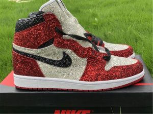 The Shoe Surgeon x Air Jordan 1 North Pole Custom Bred
