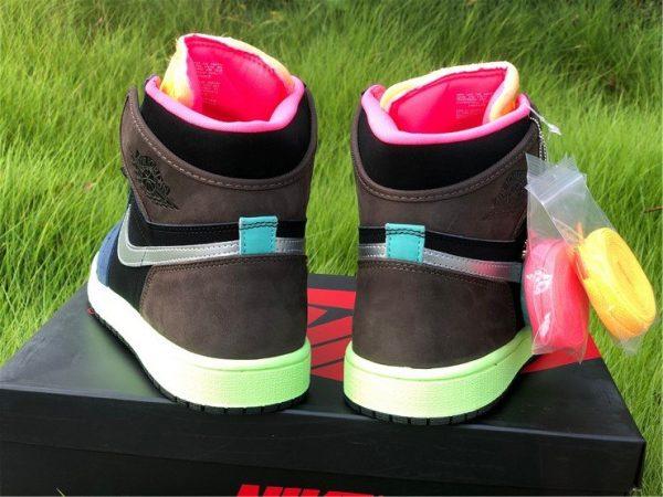 2020 Air Jordan 1 High OG Bio Hack 555088-201 Heel