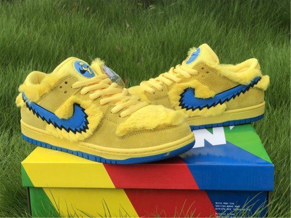 Buy Nike SB Dunk Low Grateful Dead Bears In Yellow CJ5378-700