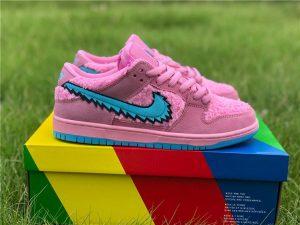 Grateful Dead Bears x Nike SB Dunks Low In Pink